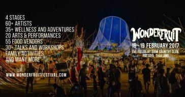 Фестиваль Wonderfruit 2017 в Паттайе (ВИДЕО)