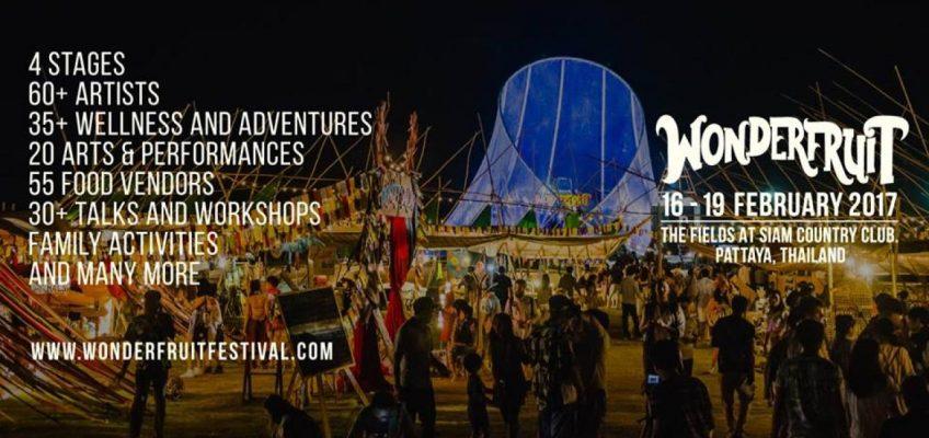 Фестиваль Wonderfruit 2017 в Паттайе