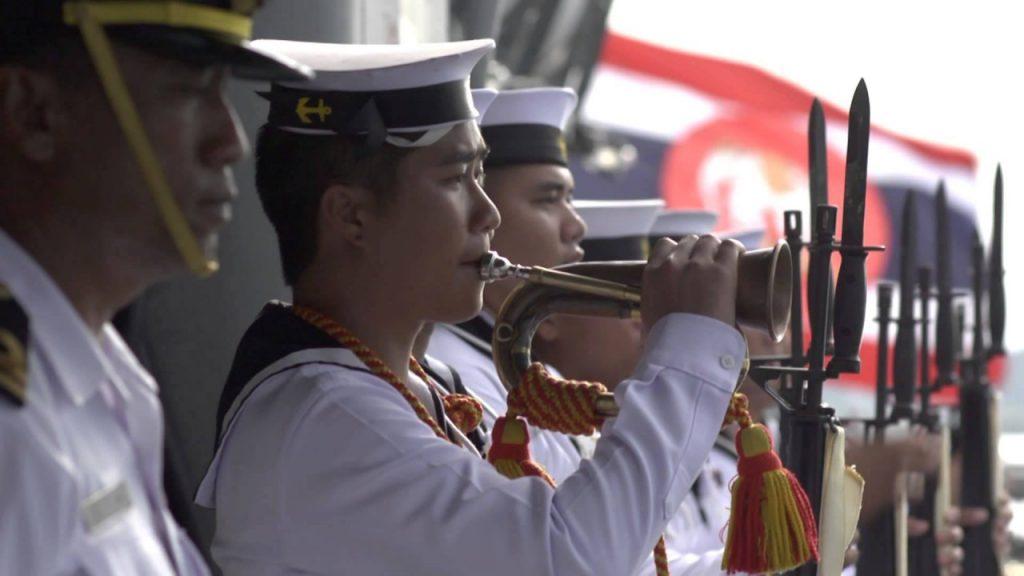 Большой военный парад в Паттайе 2017