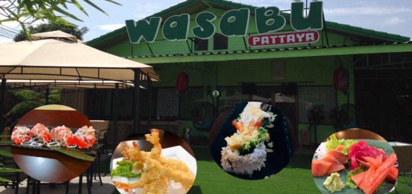 Японский ресторан Wasabu в Паттайе