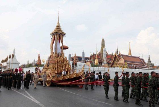 Похороны короля Таиланда состоятся в октябре