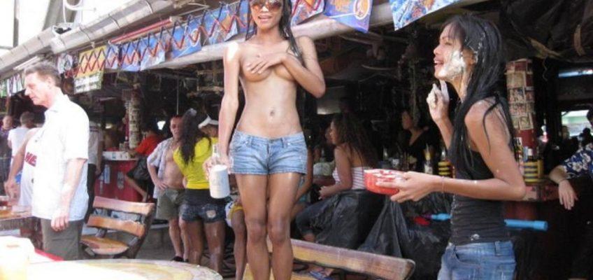 Штраф за оголенную грудь в Таиланде 5 тысяч батов