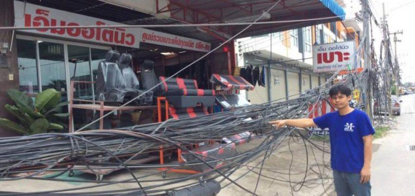 Масштабная реконструкция электросистемы в Паттайе
