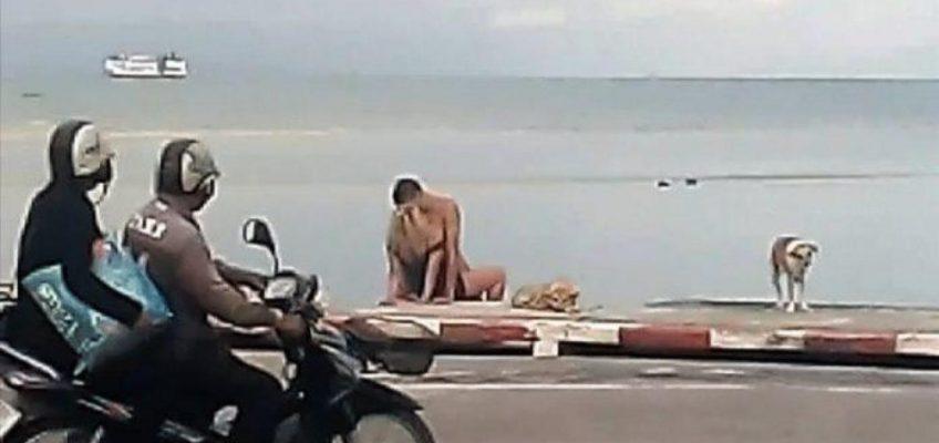 Секс на пляже в Таиланде