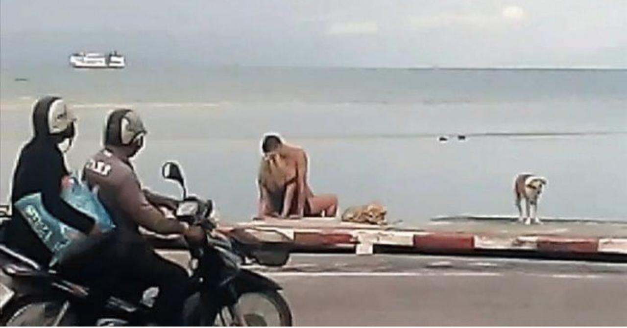 секс в тайланде на пляже видео