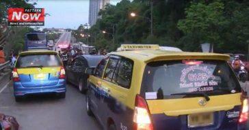 Такси Паттайи против Uber и Grab Taxi
