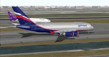 Воздушная яма для самолета Москва-Бангкок