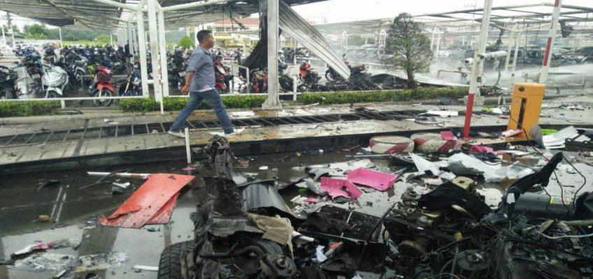 Взрывы в Таиланде