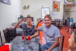 русская еда в Лаосе
