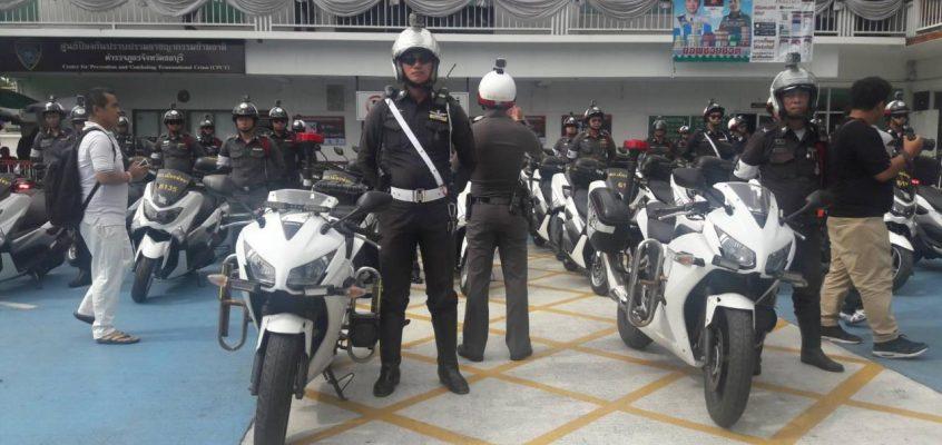 37 мотоциклов для полиции Паттайи