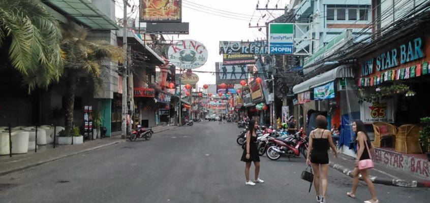 Комендантский час на Walking Street в Паттайе