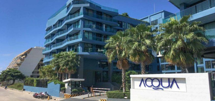 Квартира в аренду в Паттайе — Acqua Condominium