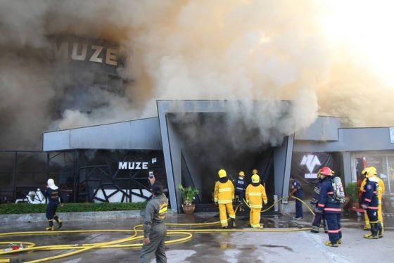 Пожар в ночном клубе в Паттайе