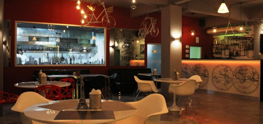 The MAP Cafe' Lounge – новое кафе в Паттайе (6)