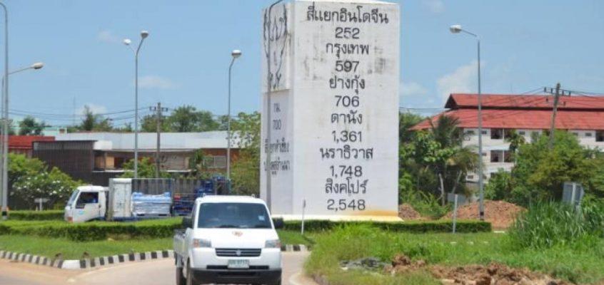 В Таиланде снесут гигантский дорожный знак