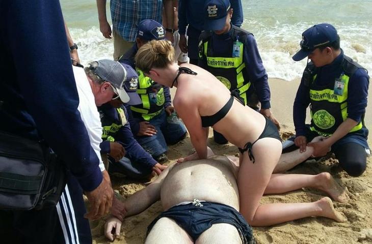 Российский турист утонул на пляже Джомтьен в Паттайе