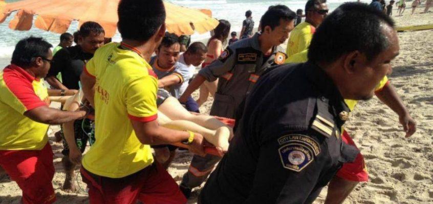 Опасные пляжи Пхукета — сильные волны