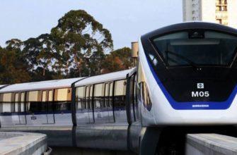 Беспилотные поезда на монорельсах - скоро в Бангкоке