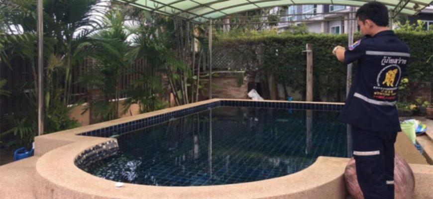 Отец с сыном погибли во время ремонта бассейна в Паттайе