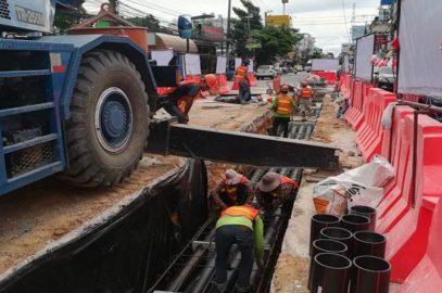 Электрокабели в Паттайе убирают под землю – теперь Бали Хай и на Северной
