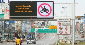 Правила пользования новым тоннелем на шоссе Сукхумвит