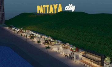 Рынок на пирсе Бали Хай в Паттайе