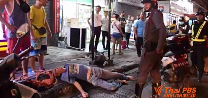 Таксист избил иностранного туриста в Паттайе (видео)