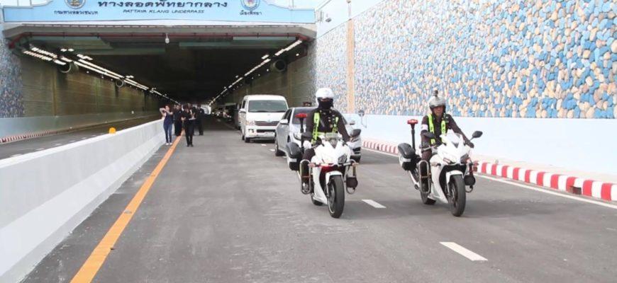 В Паттайе запустили подземный дорожный тоннель
