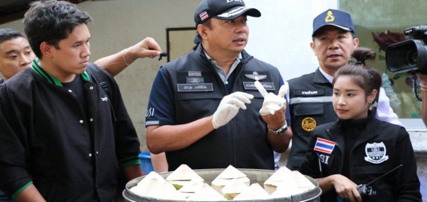 В китайских ресторанах Паттайи подают фальшивые ласточкины гнезда
