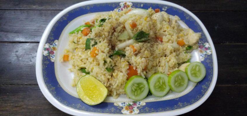 Тайская еда — готовим сами: Као Пад