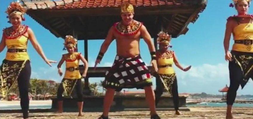 Шакира танцует зумбу на Бали (ВИДЕО)