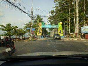 Свободная парковка на пляже Банг Сарэй
