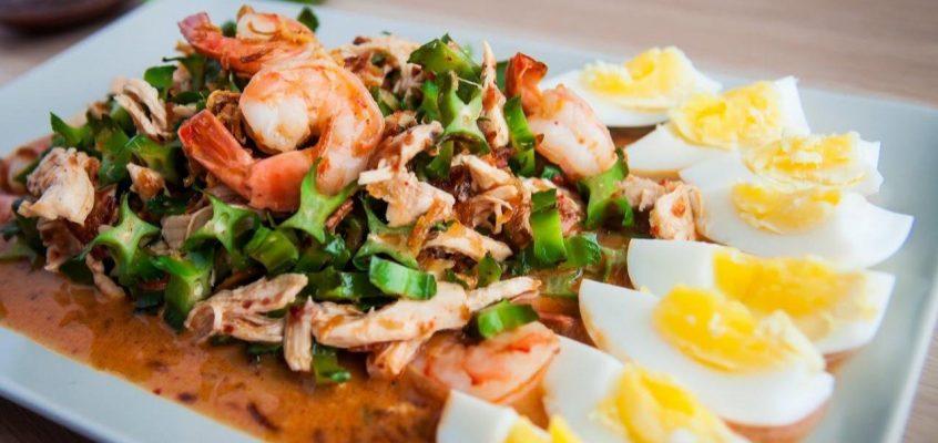 Тайская еда — готовим сами: Ям Туа Пу