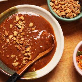 Тайская еда - готовим сами Ям Туа Пу