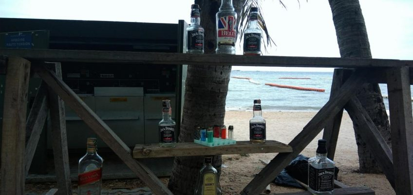 В Паттайе появился «пляж-туалет»