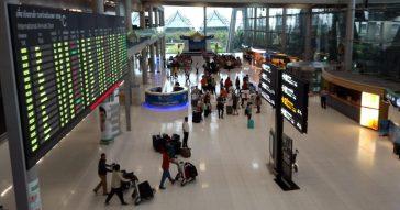 В Таиланде орудуют самолётные воры-карманники