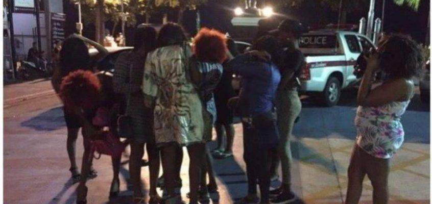 В Паттайе задержали 12 проституток из Уганды