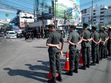 Прощание с Королем Таиланда в Паттайе