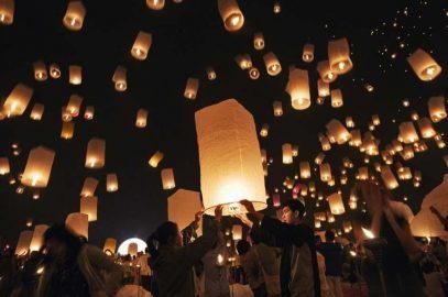 Лой Кратонг в Паттайе — праздник плавающих лодочек и фонарей