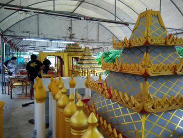 Паттайя готовится к похоронам Короля Таиланда