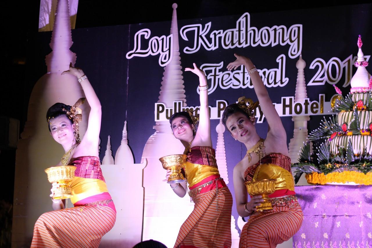 Лой Кратонг в Паттайе — Pullman Pattaya Hotel G