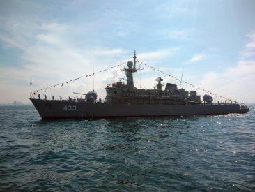 Парад кораблей в Паттайе