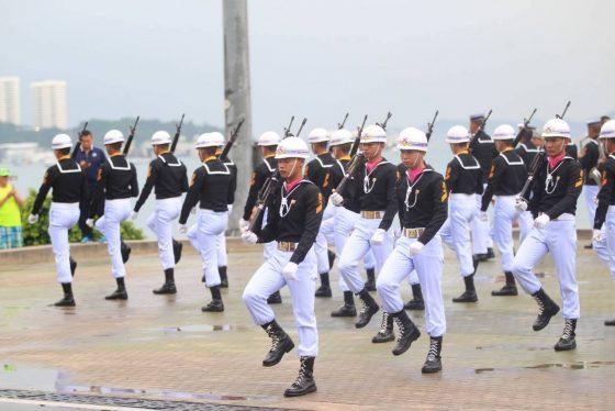 Программа военно-морского парада в Паттайе 19 ноября 2017