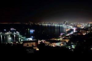 Ночная Паттайя со смотровой площадки