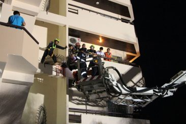 Россиянин выпал с балкона в Паттайе и напоролся на штыри