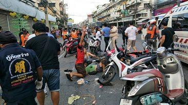 Страшная авария в Паттайе