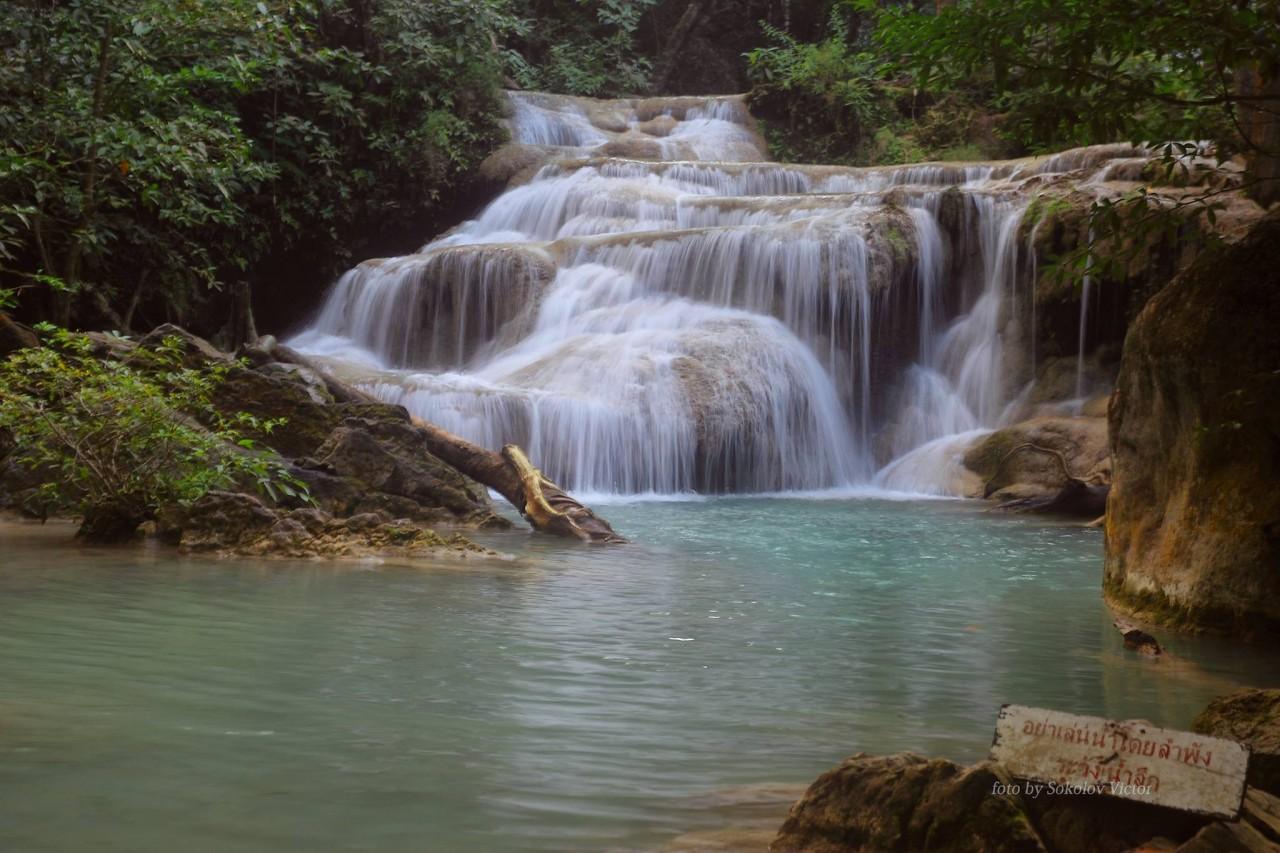 Третий каскад водопада