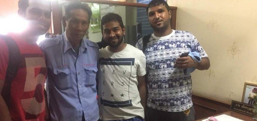 Туристам из Индии водитель микроавтобуса в Паттайе вернул забытые вещи