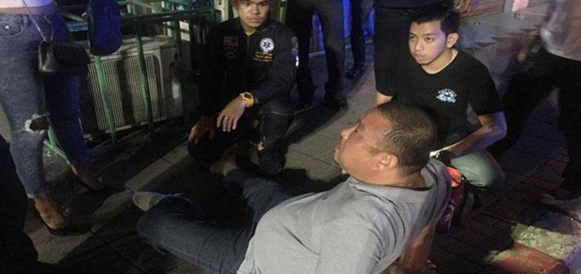 В Паттайе водители сонгтео избили туриста из Кореи (ВИДЕО)
