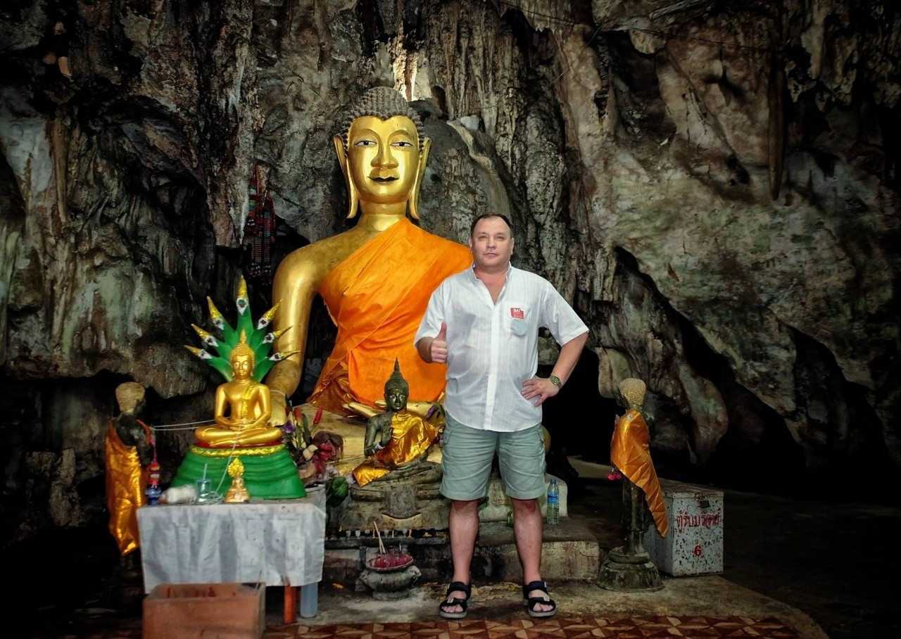 В подземном храме